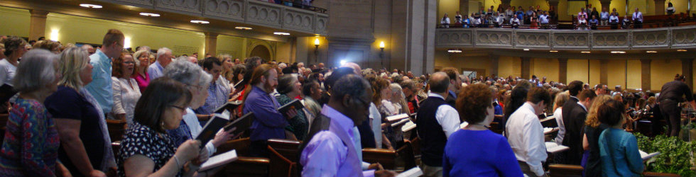 "At annual meeting, Christian Scientists see ""new spirit"" emerging in society"